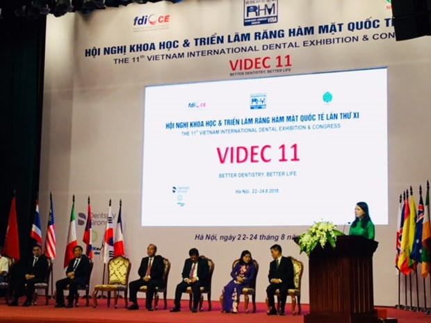 International Dental Exhibition and Congress opens in Hanoi hinh anh 1