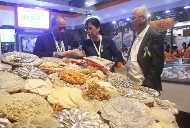 Vietnam fisheries int'l exhibition opens in HCM City hinh anh 1