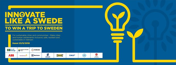 """Innovate like a Swede"" contest launched in Hanoi hinh anh 1"