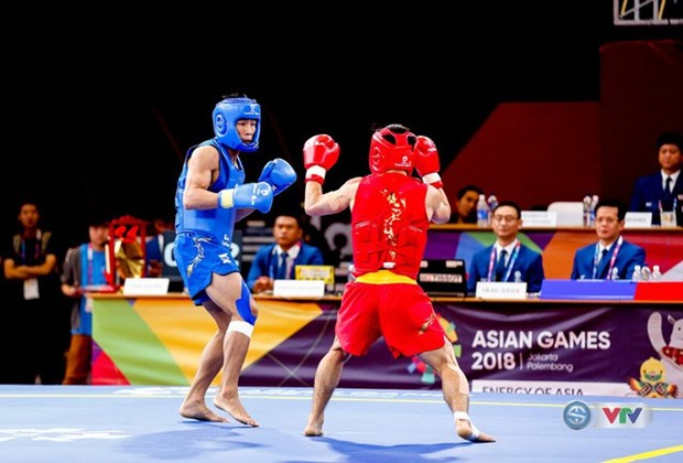 Asian Games 2018: Vietnam secures another silver in wushu hinh anh 1