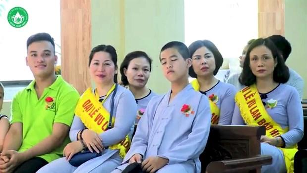 Buddhist Vu Lan Festival in full swing hinh anh 4