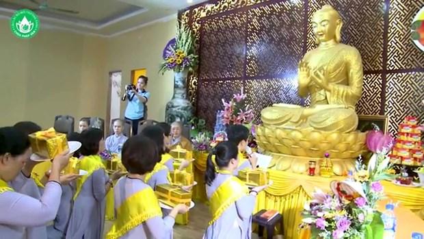 Buddhist Vu Lan Festival in full swing hinh anh 1