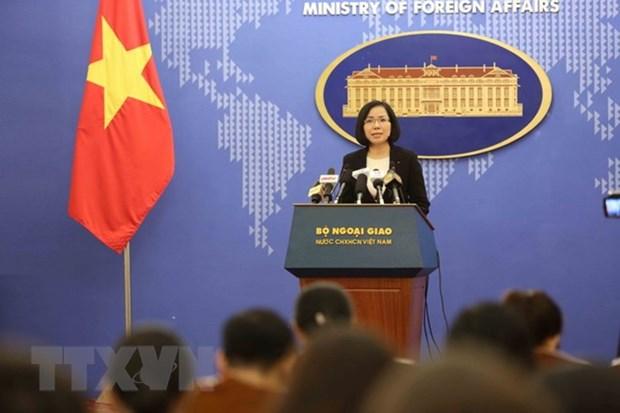 Vietnam demands Taiwan end live-fire drills on Ba Binh Island hinh anh 1