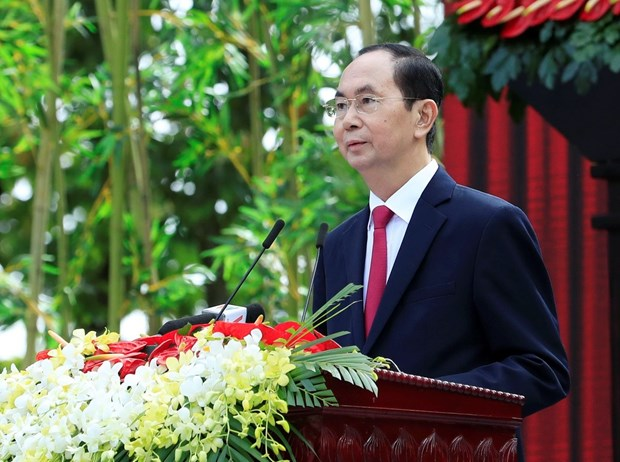 President leaves Hanoi for State visits to Ethiopia, Egypt hinh anh 1