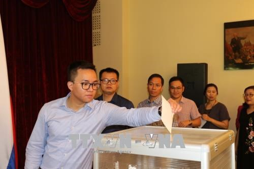 Vietnamese Embassy in Russia raises funds for victims of Laos dam collapse hinh anh 1