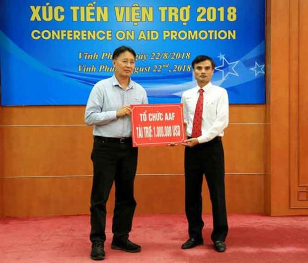 Vinh Phuc province promotes foreign aid hinh anh 1