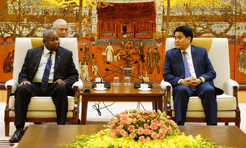 Hanoi, Mozambique step up cooperative activities hinh anh 1