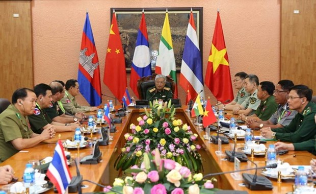 Deputy Defence Minister welcomes delegates to border exchange hinh anh 1