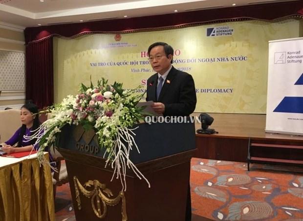 Seminar highlights NA's role in diplomacy hinh anh 1