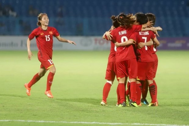 ASIAD 2018: Vietnam's female squad fails to enter semifinals hinh anh 1