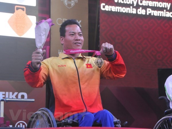 2018 Asian Para Games: Vietnamese athletes receive support hinh anh 1