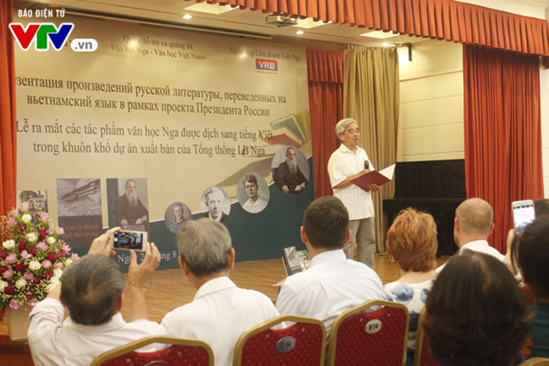 Vietnamese versions of Russian classic literature works made public hinh anh 1