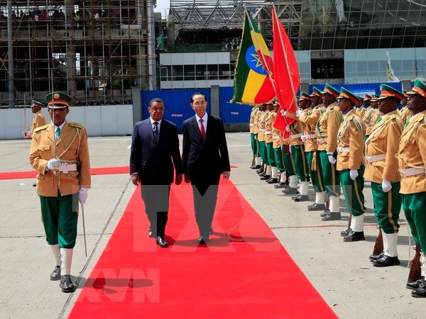 Vietnam, Ethiopia bring relations to new height hinh anh 1