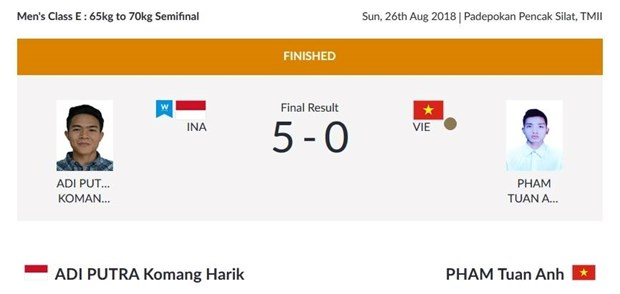 ASIAD 2018: Pencak silat earns bronze for Vietnam hinh anh 1