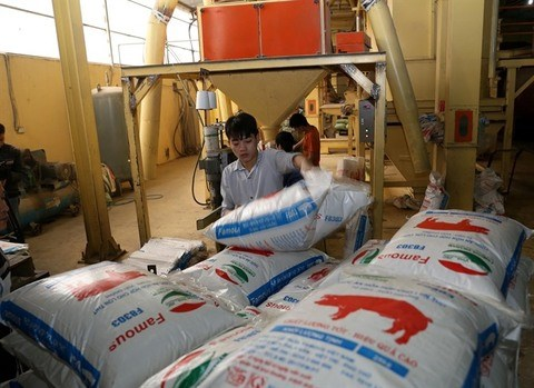 Domestic animal feed controlled by import and FDI businesses hinh anh 1
