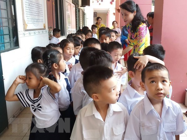 New school year ceremony to be held nationwide on September 5 hinh anh 1
