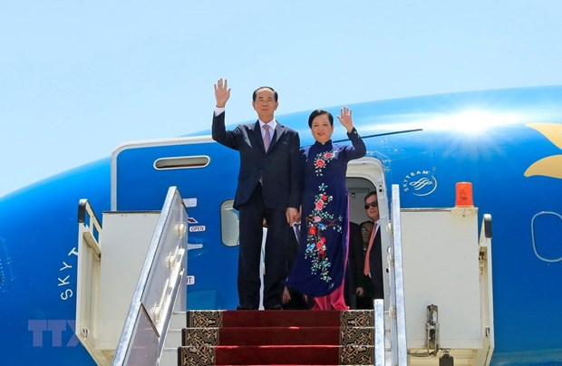 Egypt newspaper: President Quang's visit opens new cooperation prospects hinh anh 1
