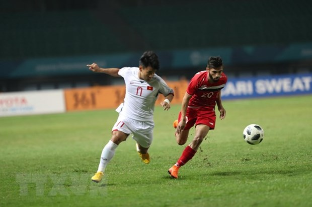 Vietnam beats Syria 1-0, entering ASIAD semifinals for first time hinh anh 3