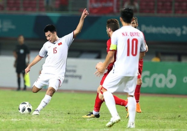 Vietnam beats Syria 1-0, entering ASIAD semifinals for first time hinh anh 2