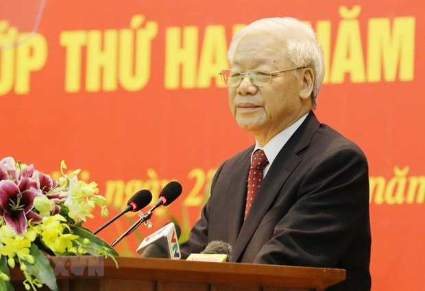 Second refresher course opens for Party Central Committee members hinh anh 1