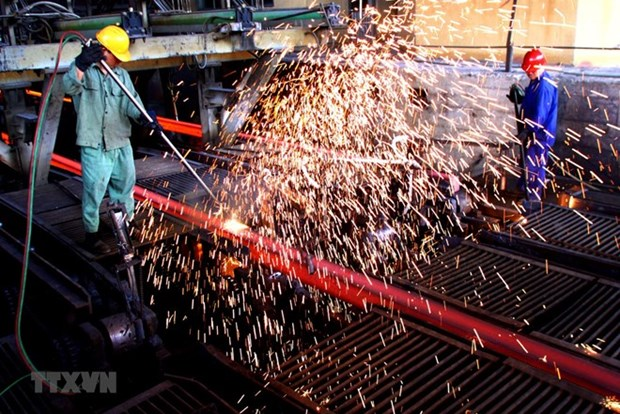 Seven-month industrial production up 9.81 percent in southern localities hinh anh 1