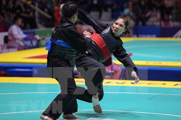 ASIAD 2018: Six Vietnamese athletes qualify for Pencak Silat finals hinh anh 1