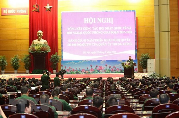 Defence diplomacy helps improve Vietnamese army's position hinh anh 1