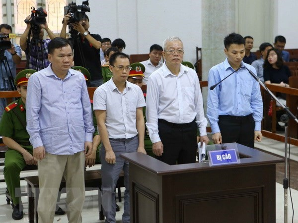 Ex-senior members of PVTEX brought to trial hinh anh 1