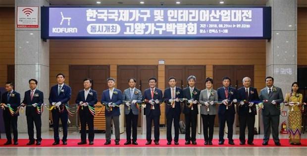 ASEAN Furniture & Interior Exhibition underway in RoK hinh anh 1