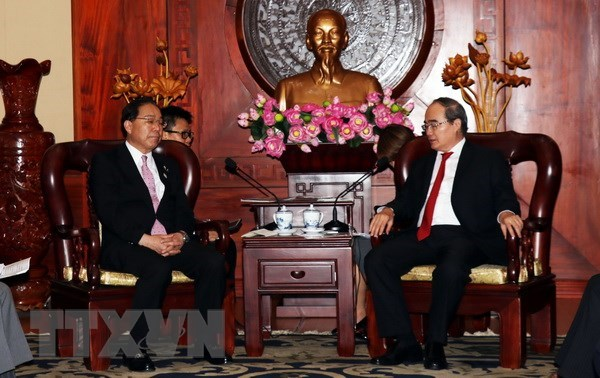 HCM City backs strengthened cooperation with Japan locality hinh anh 1