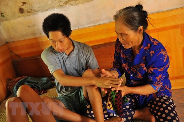 Project to give healthcare, rehabilitation support to AO victims hinh anh 1