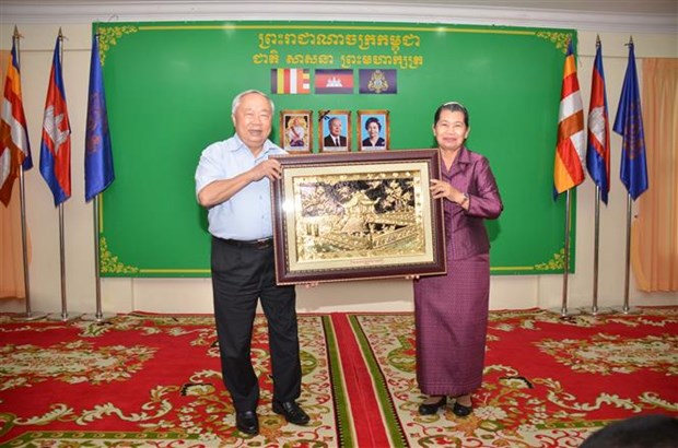 Friendship associations of Vietnam, Cambodia boost ties hinh anh 2