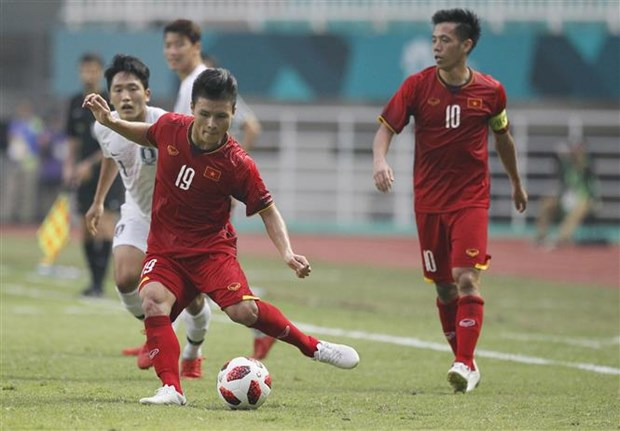 ASIAD 2018: Foreign news outlets hail Vietnamese squad's brave run hinh anh 1
