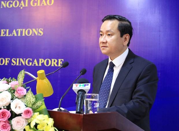 Hai Phong marks Vietnam-Singapore diplomatic ties hinh anh 1