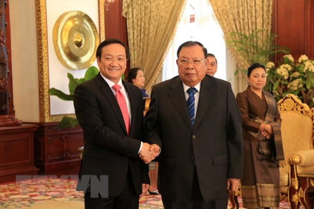 Ambassador: Vietnam to accompany Laos in national development hinh anh 1