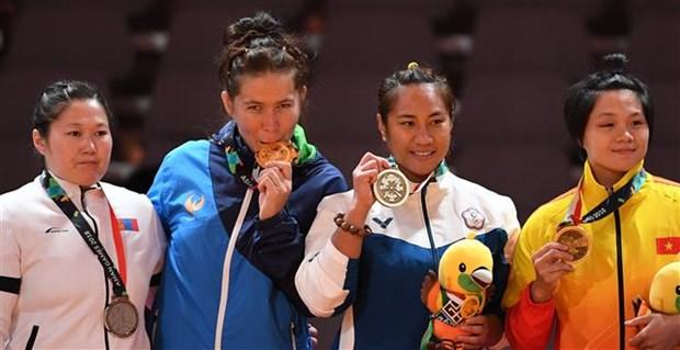 ASIAD 2018: Vietnam bags bronze medal in Kurash hinh anh 1