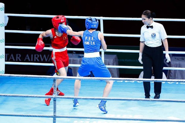 ASIAD 2018: Vietnam earns bronze medal in boxing hinh anh 1