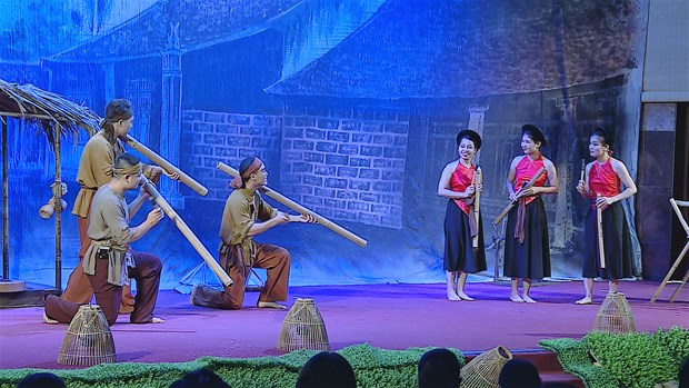 Art show features the spirit of Vietnamese countryside hinh anh 4