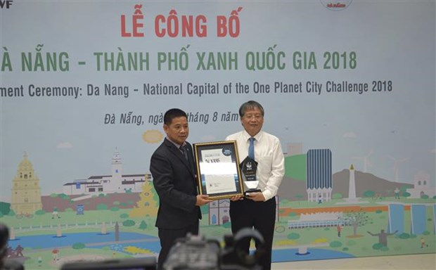 Da Nang proud to be Vietnam's green city of the year hinh anh 1