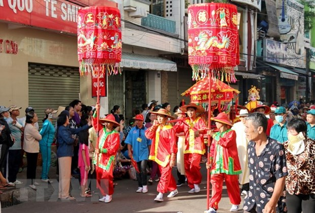 Nghinh Ong festival in full swing in Binh Thuan hinh anh 1