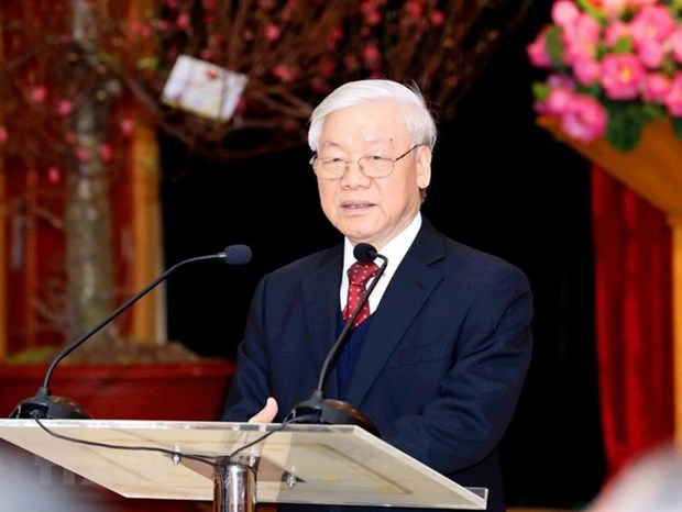 Party chief to visit Russia from September 5-8 hinh anh 1