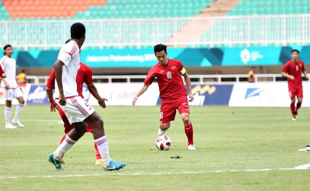 Vietnam lose to UAE in ASIAD playoff for bronze medal hinh anh 1