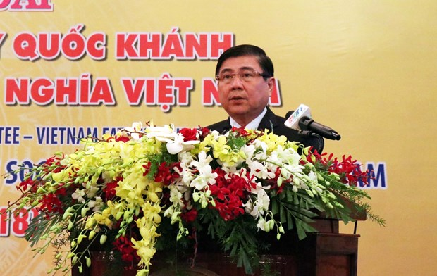 HCM City hosts banquet to mark 73rd National Day hinh anh 1