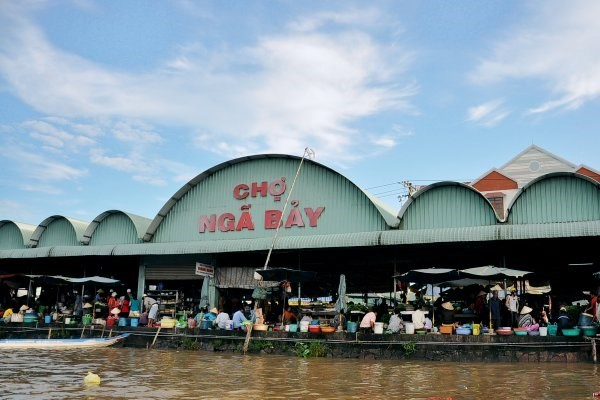 Company to invest 700 billion VND in Nga Bay floating market hinh anh 1