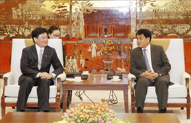 Japan ready to work with Hanoi on pollution treatment hinh anh 1