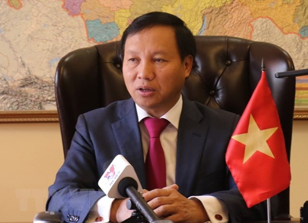 Party chief's visit to bolster comprehensive strategic partnership with Russia hinh anh 1