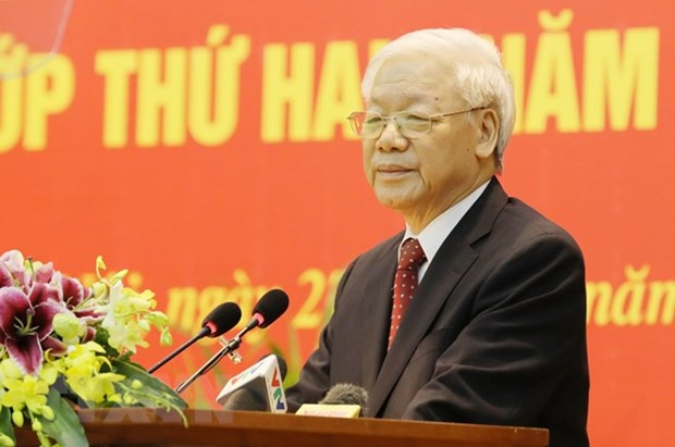Party chief's visit to tighten Vietnam's strategic connectivity with Russia hinh anh 1