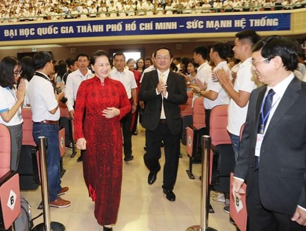 Top legislator stresses greater autonomy for universities hinh anh 1