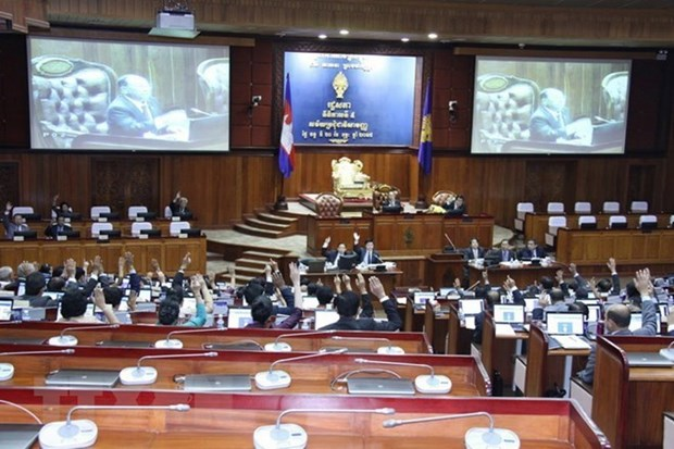 Cambodia's new National Assembly holds first session hinh anh 1