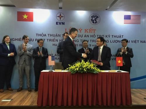 USTDA to support energy storage system in Vietnam hinh anh 1